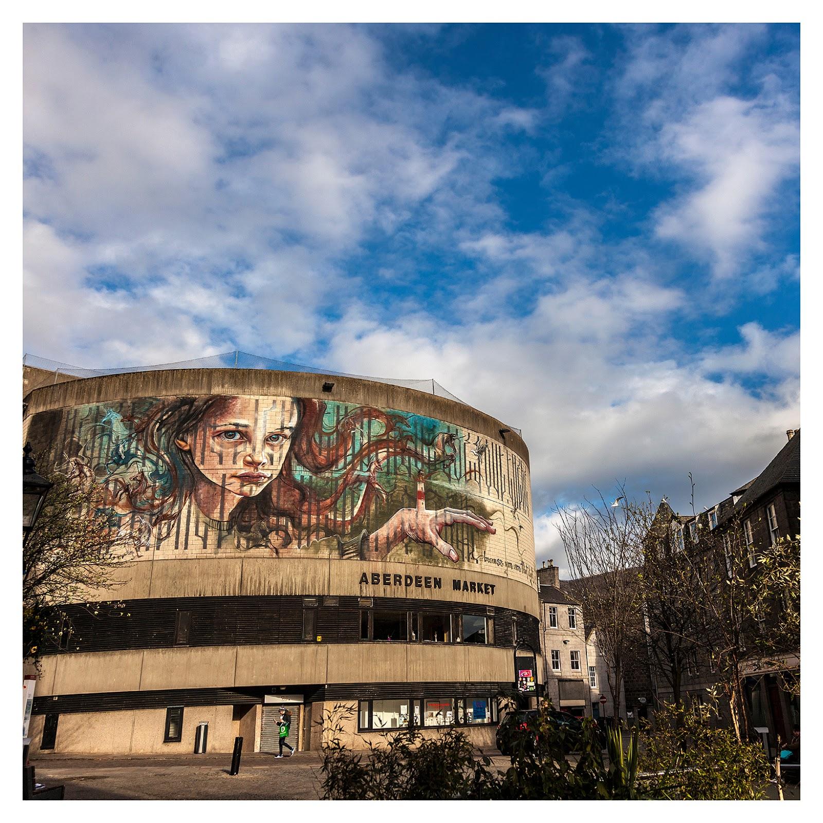 Herakut - Aberdeen Street Art Mural