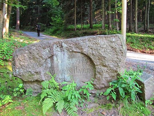 Zaraz po opuszczeniu Przełęczy pod Średnicą (595 m n.p.m.).