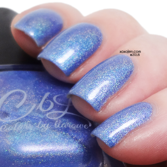 xoxoJen's swatch of Colors By Llarowe: Love You Forever, Like You For Always