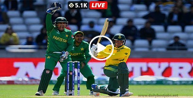 PAK Vs SA 2019 Live Streaming 1st ODI Series Live Cricket Score, South Africa Vs Pakistan Live