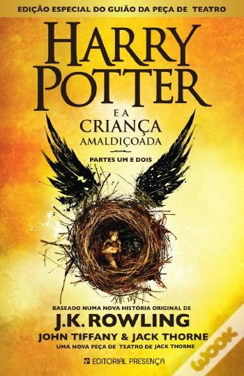 #Livros - Harry Potter e a Criança Amaldiçoada - Não Digas