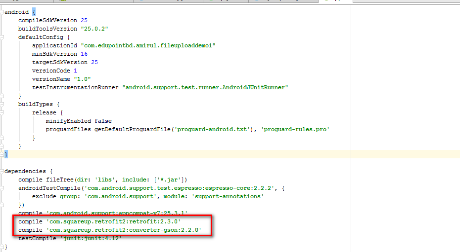 How To Add Gson Library In Android Studio How to add Gson