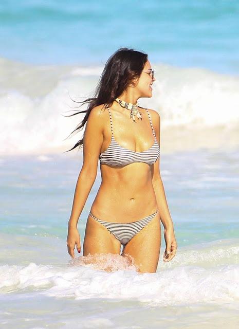 Eiza Gonzalez in Bikini on Holiday in Mexico