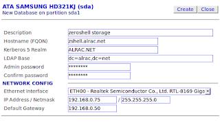 ZeroShell Net Services