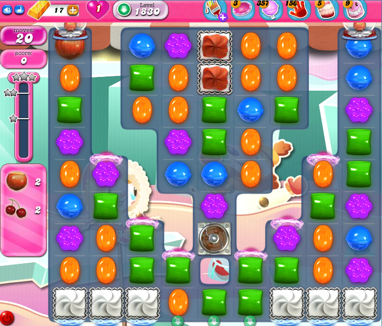 Candy Crush Saga 1830