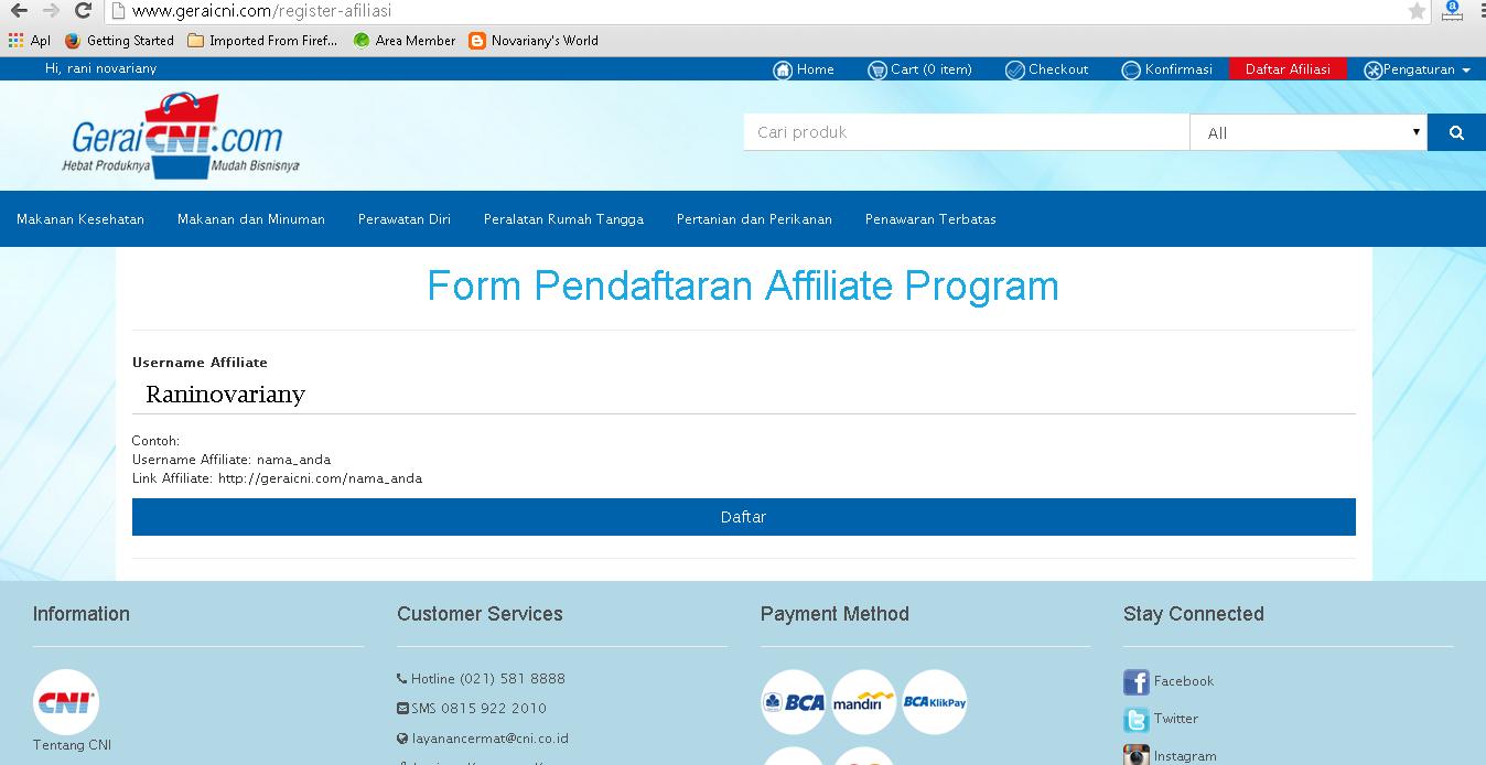 apa itu affiliate program