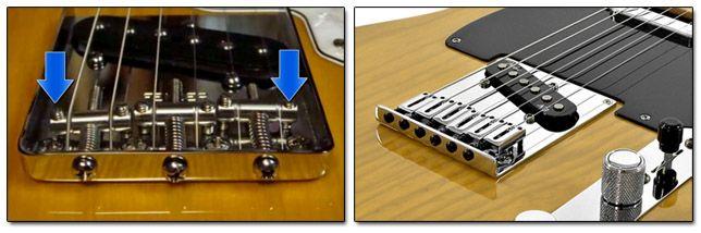 Puente Vintage y Modern de Guitarra Telecaster