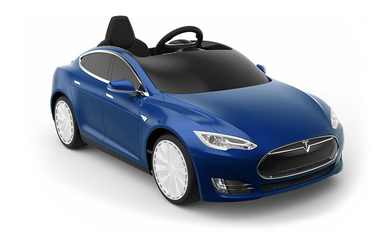 A 500 Tesla Model S Electric Toy Car For The Kid Who Has