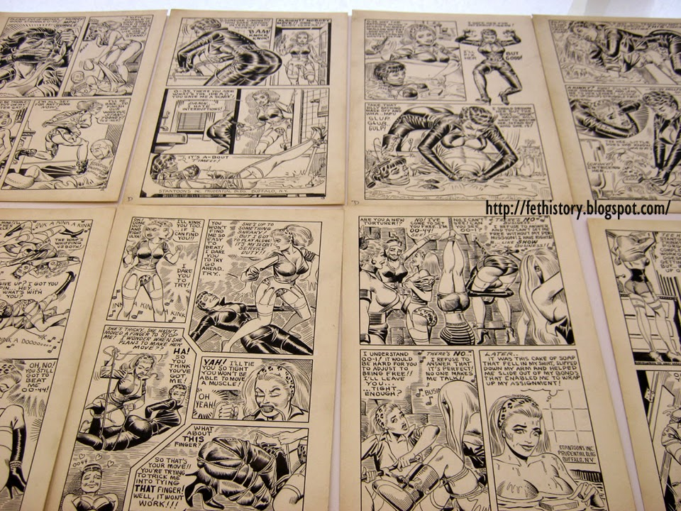 Eric Stanton and Steve Ditko art assembled and archived by Richard Perez
