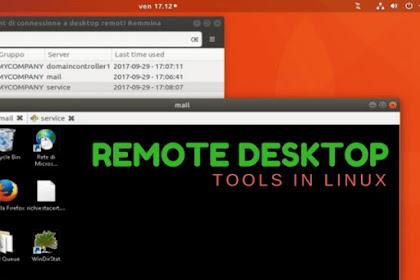 8 Aplikasi Remote Desktop Untuk Linux Terbaik 2019
