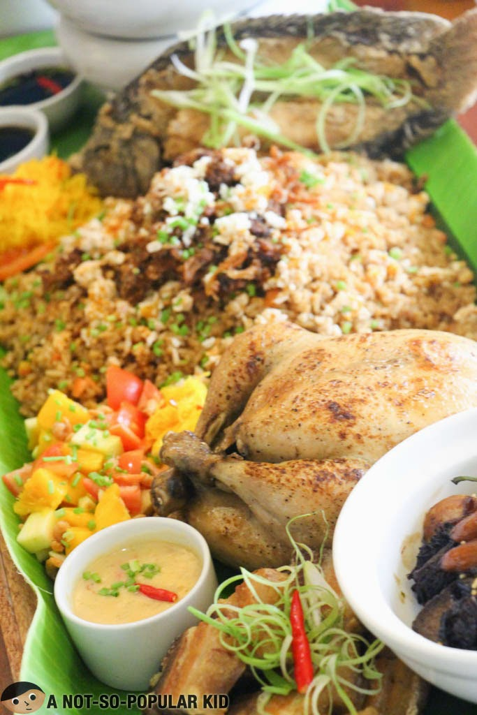 The Magwagi Family Platter of Dekada Filipino Restaurant
