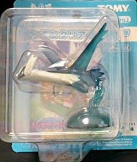 Latios figure clear version Tomy Monster Collection 2005 movie promo