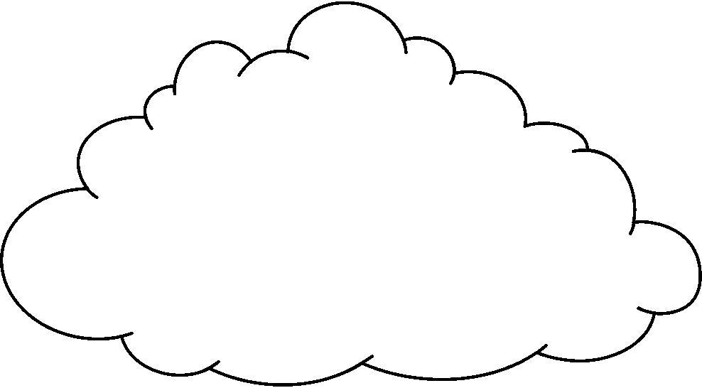 Dibujos De Sol Para Colorear E Imprimir: Imagenes De Nubes Para Colorear