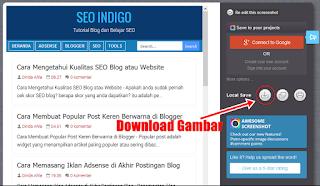 Cara Mengambil Screenshot Website Satu Halaman Penuh Full Page
