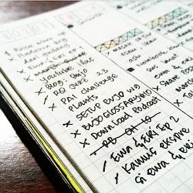 Weekly Goal in Bullet Journal by ewafebri