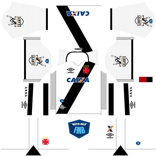 Kits Dream League Soccer - FMB  Vasco 2017 - Dream League Soccer c21dd2ce66466