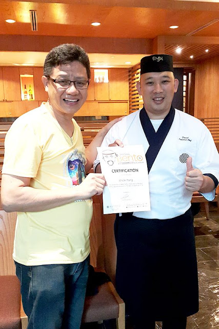 Enju Japanese Restaurant Pullman Kuala Lumpur City Centre Hotel Bento Workshop