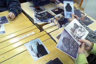 Kuva-analyysi: Taidekuvien lajittelu