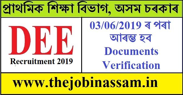 DEE Assam Recruitment of Various Grade III and Grade IV Posts