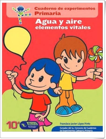 """""""Agua y Aire"""" (Cuaderno de Experimentos de Primaria)"""