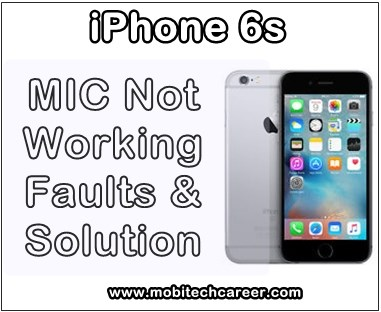 mobile, cell phone, smartphone, iphone repair, near me, how to, fix, solve, repair, Apple iPhone 6s, replace, replacement, microphone, mic, not working, no transmit sound, no clear sound, no sound during phone calls, faults, problems, jumper ways, mic track ways, solution, tips, guide, in hindi, kaise kare hindi me.