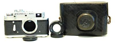 Zorki - 4K Chrome Body #283, Jupiter 8 2/50 (Black) Lens #557