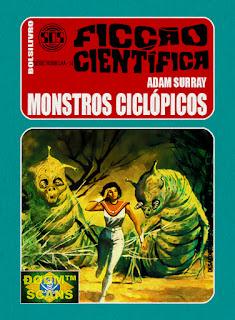 bolsilivro sos ficção científica cedibra série vermelha adam surray monstros ciclópicos