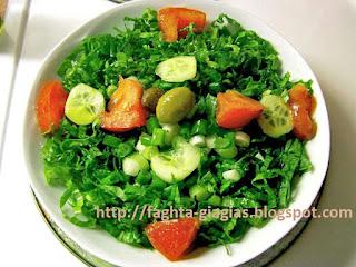 Μαρούλια σαλάτα - από «Τα φαγητά της γιαγιάς»