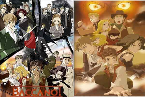 Baccano! - anime terbaik