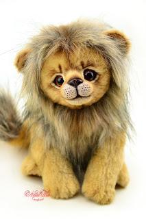 NatalKa Creations, Natalie Lachnitt, artist teddy bear, teddy bear, ooak teddy bear, Künstlerbär, Teddybär, Künstlerteddy, teddies with charm, buy teddy bear, artist bears, мишки тедди, авторский мишка тедди, тедди медведи, artist lion toy, Löwe, лев тедди, designer toy