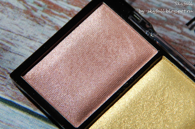 хайлайтер NYX Love You So Mochi Highlighting Palette, свотчи