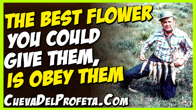 Young People the best flower you could give them is obey them - William Marrion Branham Quotes