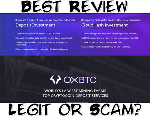 Panduan Daftar dan Cara Mining Bitcoin Terpercaya Di OXBTC CloudHash, Serta Panduan Deposit OXBTC CloudHash, dan Bukti Payout / Pembayaran OXBTC CloudHash Legit