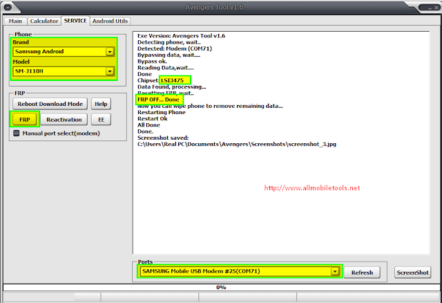 Download Samsung FRP Reset Files (Using Odin Flash Tool)