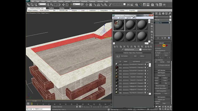 How to texture a 3d Model exterior and interior With 3dsMax