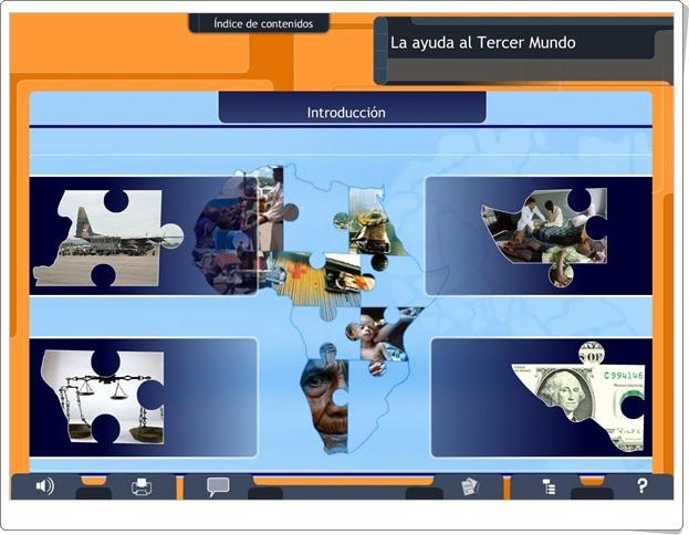 """""""La ayuda al Tercer Mundo"""" (Ciencias Sociales de Secundaria)"""