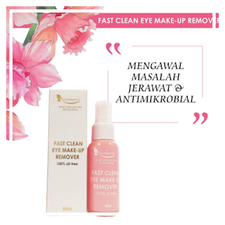 NURRAYSA FAST CLEAN EYE MAKE-UP REMOVER