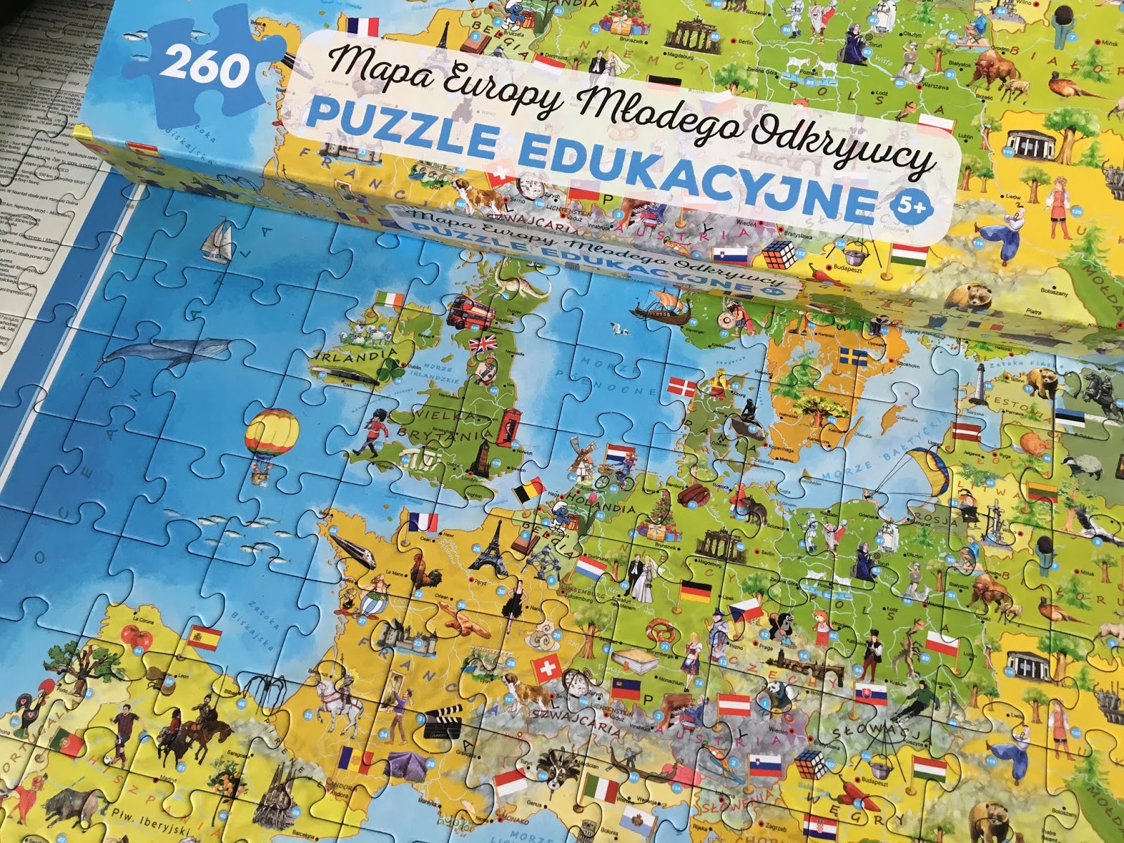 puzzle dla ucznia