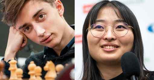 Daniil Dubov et Ju Wenjun remportent les championnats du monde d'échecs rapide - Photo © Lennart Ootes