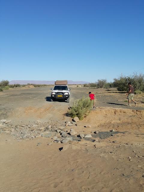 viajar pela Namíbia numa camper com barracas