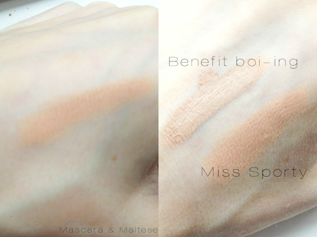 Miss Sporty Stay Perfect Concealer Stick Swatch