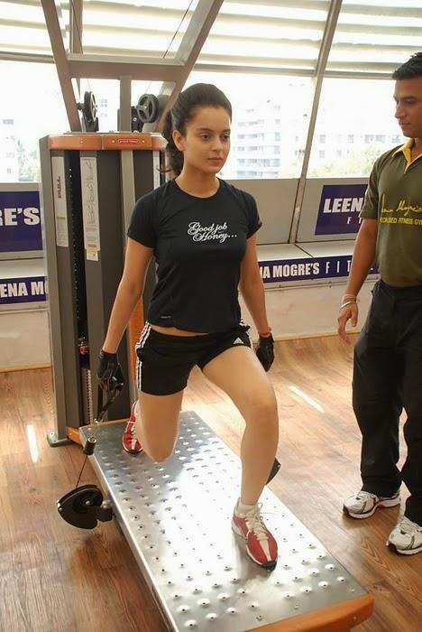 Hansika Motwani Cute Wallpapers Coogled Actress Kangana Ranaut At Gym Workout Pictures