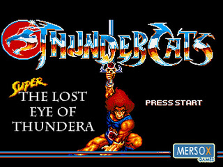 Videojuego Super Thundercats The Lost Eye of Thundera