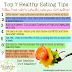 7 HEALTHY EATING TIPS