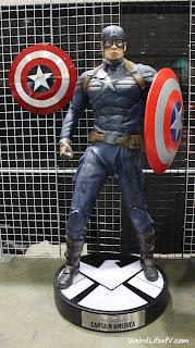Life size Captain America Statuette