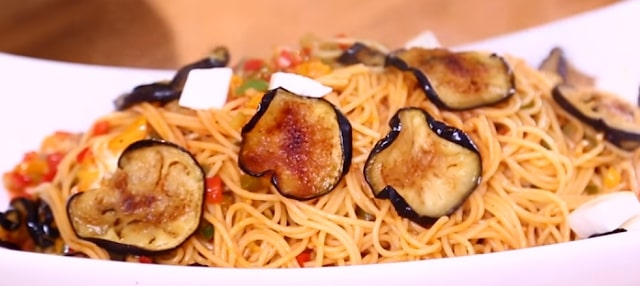 for life Pasta with eggplant