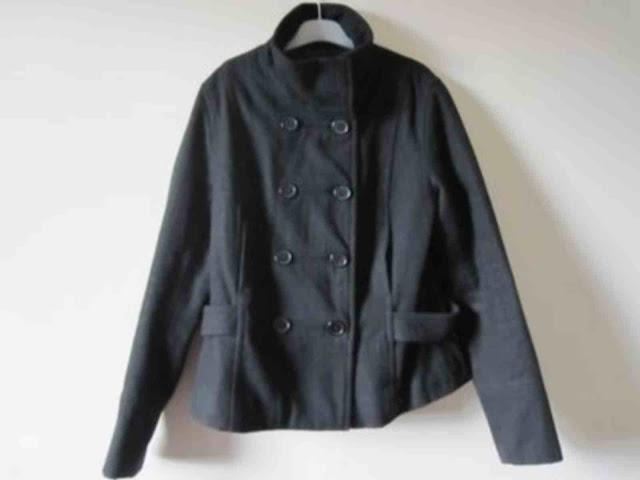 manteau caban noir bonobo