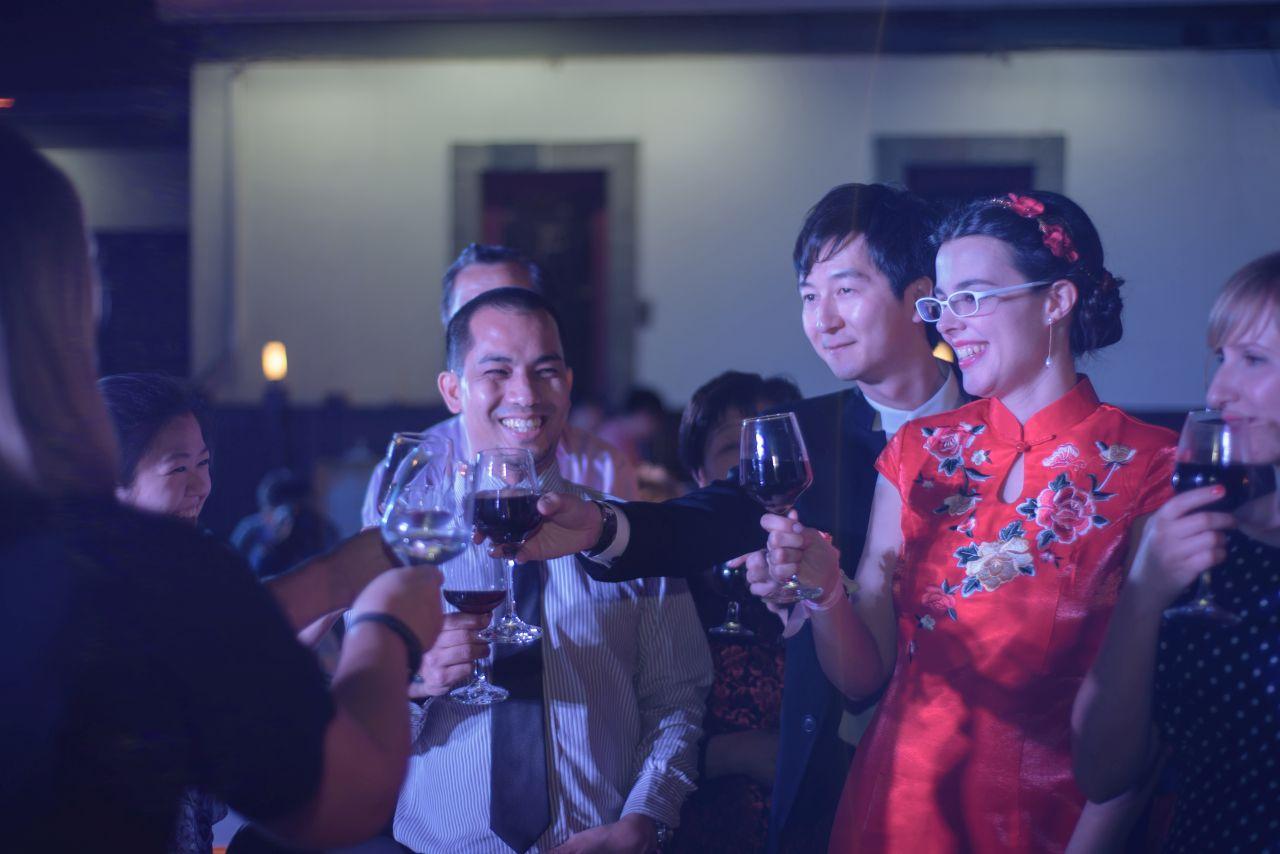 Infinity plus one: Nuestra boda china