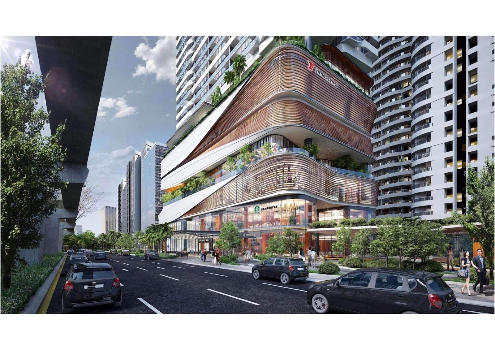 Trung tâm thương mại của Han Jardin.