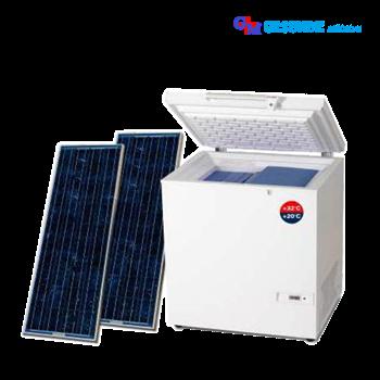 Kulkas Vaksin Laboratorium (Solar System Vaccine Cooler)